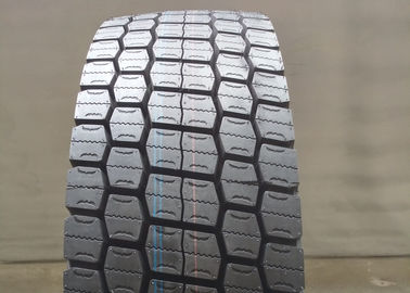 China Block Pattern 12R22.5 Commercial Truck Tires , Wide Truck Tires 22 Inch Rim Dia supplier