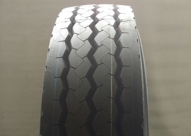 China Comfortable Riding Truck And Bus Tyres , Steering Axle Tires 12R22.5 Standard Rim 9.00 supplier